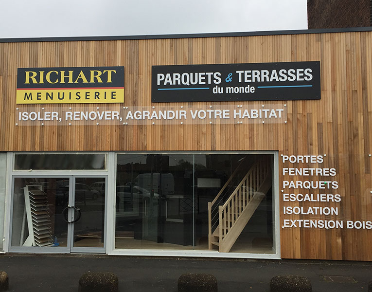 Showroom parquet Lille