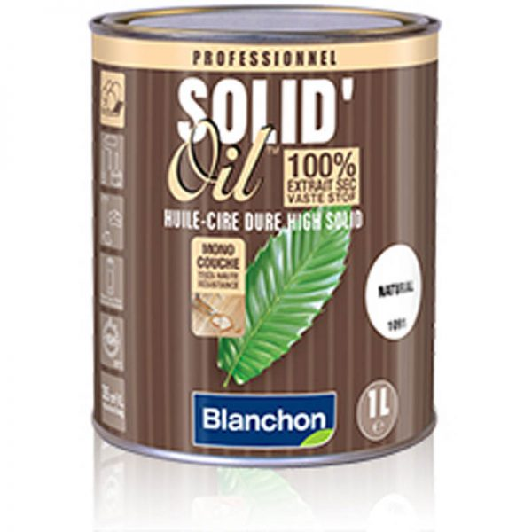 Blanchon Huile-Cire Dure Solid'Oil